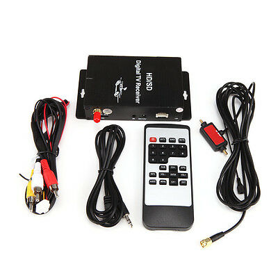 Auto SUV Mobile ATSC-MH Tuner Receiver Set Top Box With 4 Video For US HD/SD TV