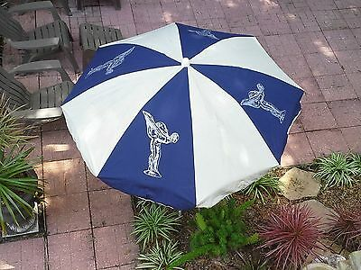 Original Rolls-Royce Beach Umbrella Excellent Condition from1970s to early 1980s