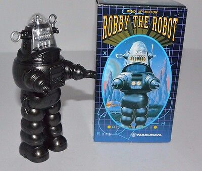 Masudaya Robby the Robot Forbidden Planet Lost in Space Wind up Rare MIB 1997