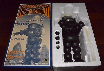 Talking Robby the Robot Masudaya Forbidden Planet Lost in Space 1/5 scale Rare