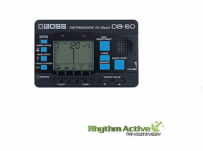 Boss Db-60 Dr. Beat Metronome/digital Display 17-Beat Metronome By Roland Db60