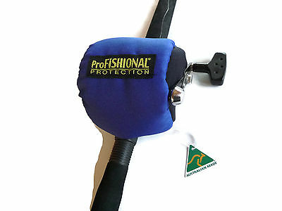 Fishing Reel Cover Medium Size - padded- Made in Australia - Made in Australia -