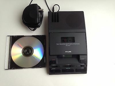 Philips 720 Executive Transcription System - Unit & Power Adapter Only