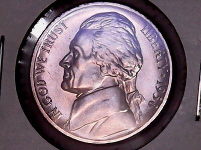 1938-D Jefferson Nickel, Gem Bu, (138D-Ac6501F)