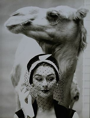 Guy Bourdin Offset Lithograph Photo Print XXL, French Vogue 1956 for Svend Hats