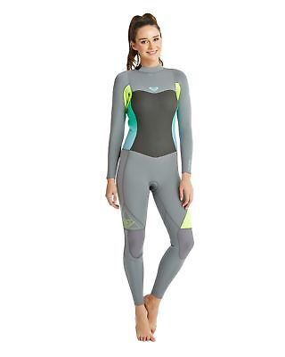 NEW ROXY™  Womens Syncro 3/2mm GBS Steamer Wetsuit Womens Surf