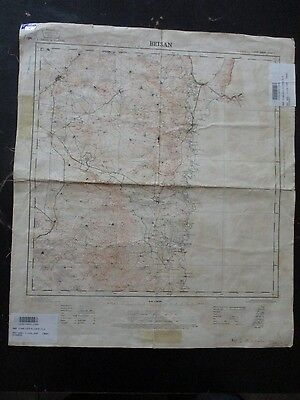 Beisan: A  Topographical Map, 1:100000 , Survey Of Palestine, 1936.  Vbok195.