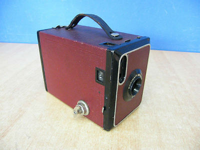 Fotocamera Portrait Brownie N 2 Box Camera Vintage Great Britain 1929