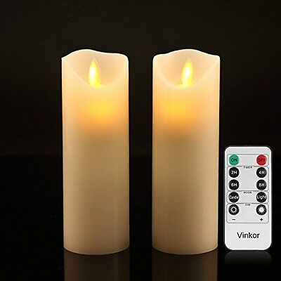 Unity Candles Vinkor Flameless Candles Flickering Flameless Candles Set Candles: