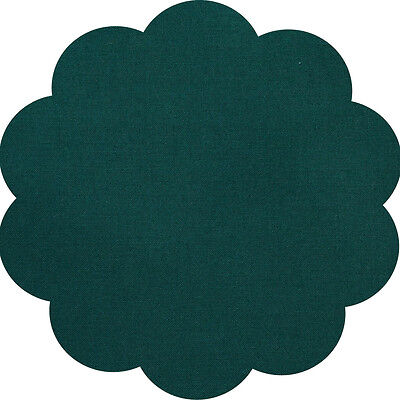 """5"""" CHARM SQUARES - BOTTLE GREEN - PACK OF 20 - Quilters Deluxe Solids"""