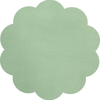 """5"""" CHARM SQUARES - LIGHT GREEN - PACK OF 20 - Quilters Deluxe Solids"""