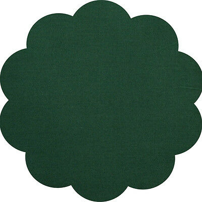 """5"""" CHARM SQUARES - OLIVE GREEN - PACK OF 20 - Quilters Deluxe Solids"""