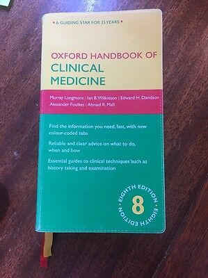 Oxford Handbook of Clinical Medicine by Longmore, Hope Paperback 8th Edition