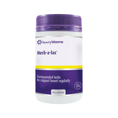 Blooms Herb a lax 100g ( Herbal laxative - for constipation )