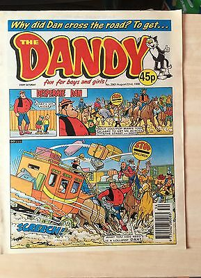 2 ISSUES OF THE DANDY COMIC - No. 2961/3064