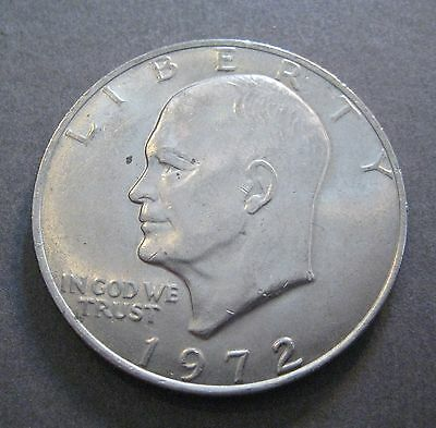 1972  Eisenhower Dollar - Type 2 - King of Ikes - (P055)