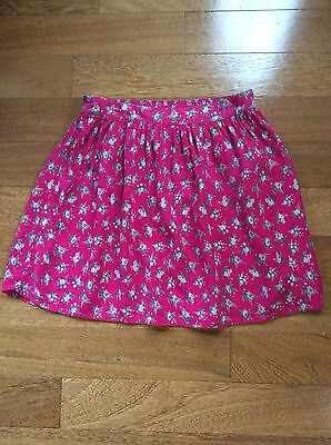 abercrombie girls pink floral skirt size XL