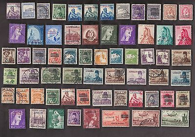 75  All Different PALESTINE & GAZA  STAMPS