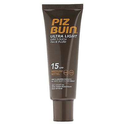 Piz Buin Ultra Dry Fluid Face SPF15 50ml
