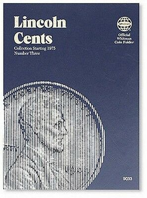 Whitman 9033 Lincoln Cents Number 3 1975 - 2013 Coin Folder Album book