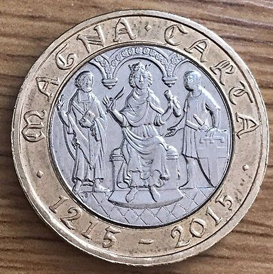 2015 Magna Carta Rare and Commemorative Coin Hunt £2 Two Pound Coins
