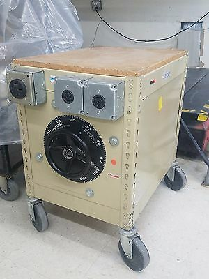 Powerstat Variable Autotransformer Superior Electric Co. Type 1156D-3Y