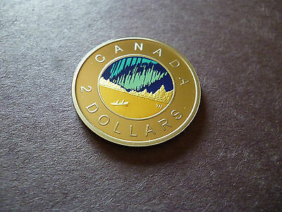 2017 Canada Proof, Toonie, $2 Dollars, 150th Anni. *Brass + Nickel Finish*.