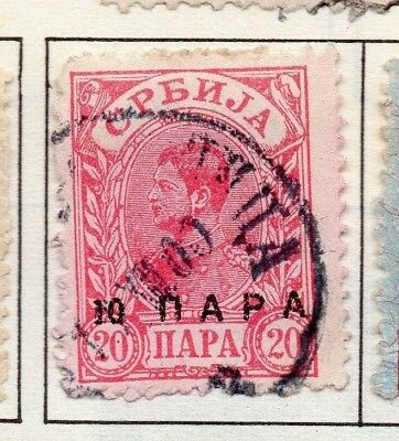 Serbia 1894 Early Issue Fine Used 20p. 157181