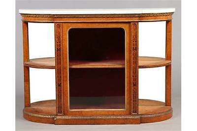 Maple Credenza by Thomas Seddon of London, George IV Marble top Sideboard.