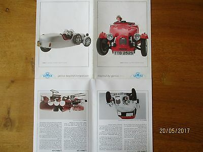 Lomax kitcar brochures and articles