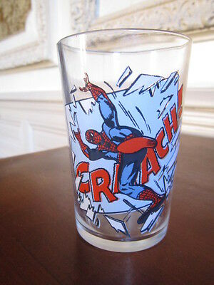 verre moutarde collection MARVEL 1978 SPIDERMAN