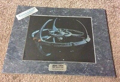 Special Edition Chromart star trek deep space nine DS9 with COA