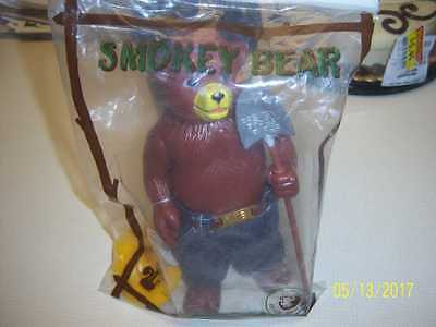 VINTAGE SMOKEY THE BEAR FIGURE 1970 (s) BY R DAKIN & CO Numbered