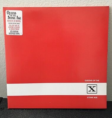 QUEENS OF THE STONE AGE - RATED R (X RATED) Limited Ed LP 1st Pressing Rare CD