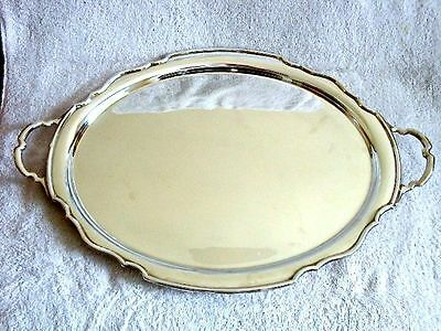 Sterling Silver Tea Tray, Hallmarked Sheffield in 1931 by Cooper Brothers