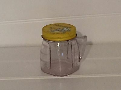 Vintage Osterizer Mini Blend Container Yellow Lid Plastic 20797