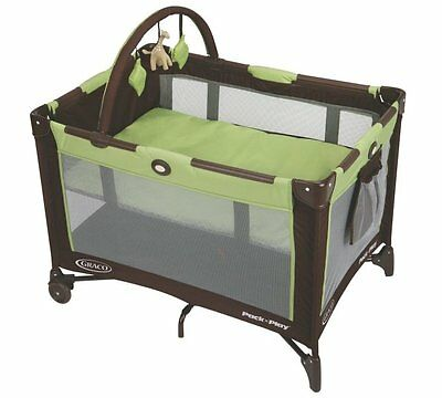 Graco Pack 'n Play On-The-Go Baby Travel Folding Playard - Green | 1812957