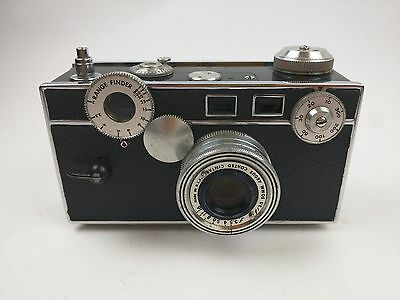 Argus Range Finder C-3 (the brick) 35mm Camera with Leather Case