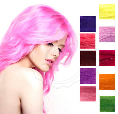 Stargazer Hair Dyes - Choose From 30 Colours - Rinse Semi Permanent Bright