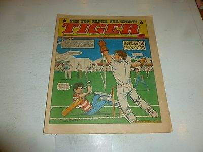 TIGER Comic - Year 1984 - Date 18/08/1984 - UK Paper Comic