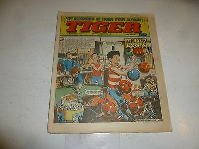 TIGER Comic - Year 1984 - Date 01/09/1984 - UK Paper Comic