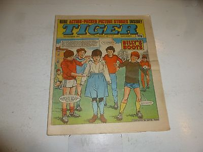 TIGER Comic - Year 1984 - Date 24/11/1984 - UK Paper Comic