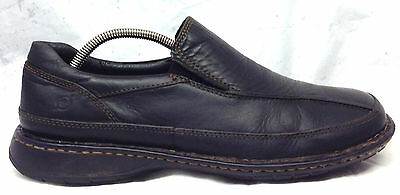 Born Size 12 M US Men's Black Leather Slip On Loafers Casual Shoes