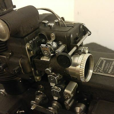 """Bell & Howell vintage Filmosound """"UTILITY"""" 16mm sound projector WWII Wartime"""