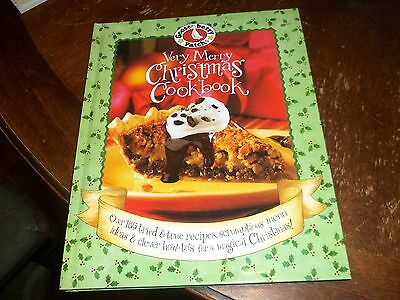 Gooseberry Patch very Merry Christmas Cookbook cook book