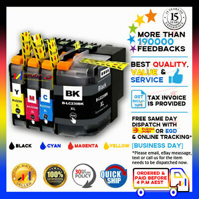 8x Ink LC239 XL LC235 XL CMY Compatible with Brother for MFC-J5320DW MFC-J5720DW