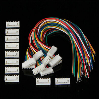 Excellway 6S1P 10pcs 6S1P Balance Charger Cable Wire Connector Male/Female Plug