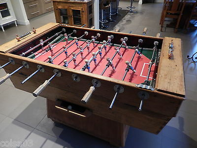 foosball table , vintage , coin operated