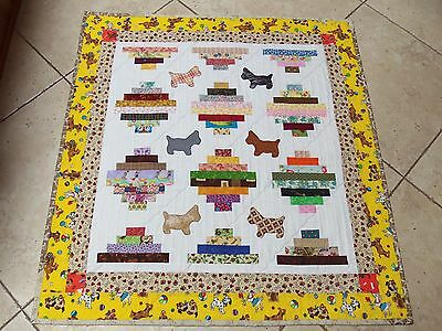 Baby/Toddler Puppy or Dog Quilt Blanket~ Bedding for Kids~ Crib or Nursery Cover