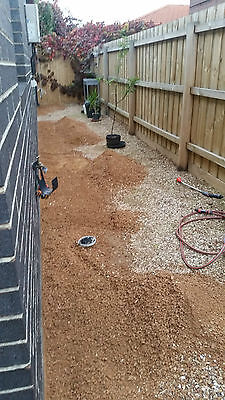 Tuscan toppings gravel screenings for garden landscaping 1-2 m3 buyer to remove